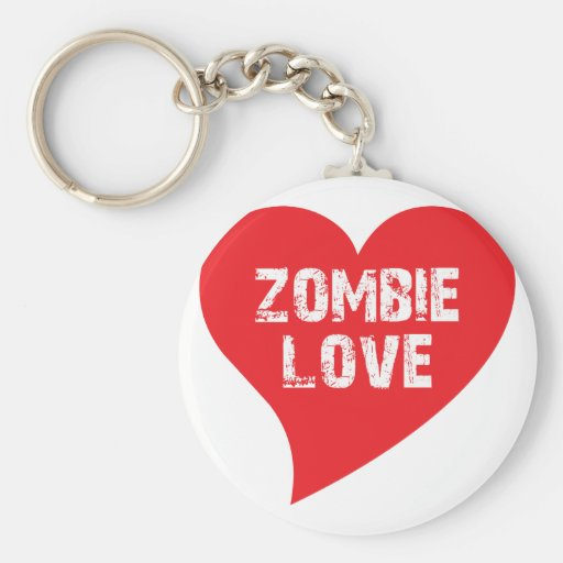 Zombie Love Key Chains