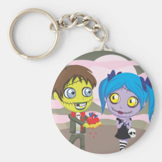 Zombie Love Keychain