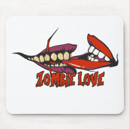 ZOMBIE LOVE large.png Mouse Pad