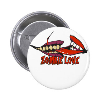 ZOMBIE LOVE large.png Pinback Button