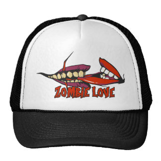 ZOMBIE LOVE large.png Trucker Hat