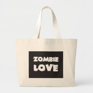 Zombie Love Large Tote Bag