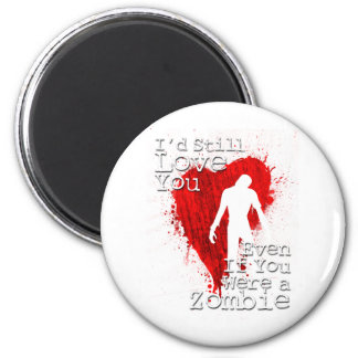 Zombie Love Magnet