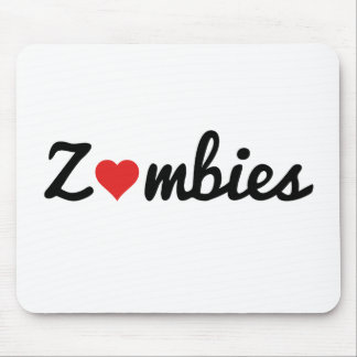 Zombie Love Mouse Pad