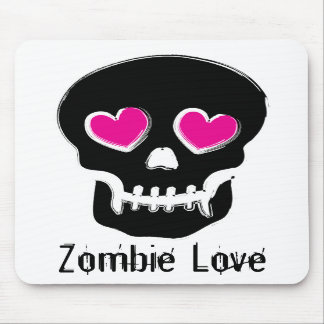 Zombie Love Mouse Pads
