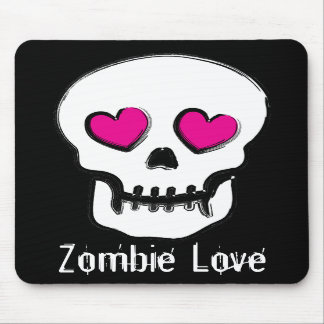 Zombie Love Mousepads