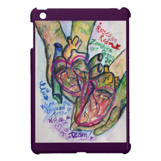 Zombie Love Poem Custom Art iPad Case