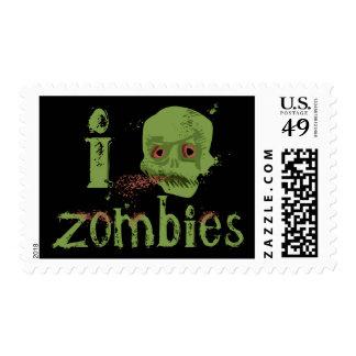 Zombie Love Postage