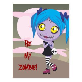 Zombie Love Postcard