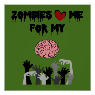 Zombie Love Poster