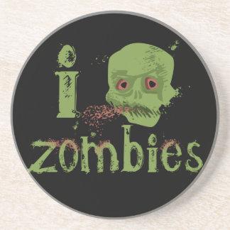 Zombie Love Sandstone Coaster