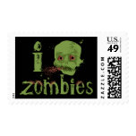 Zombie Love Stamps