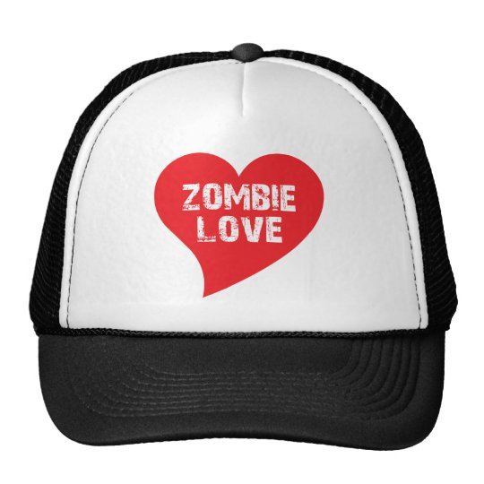 Zombie Love Trucker Hat