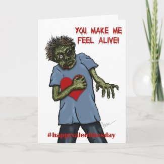 Zombie Love | Valentine's Day Holiday Card