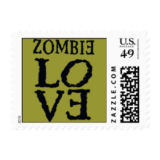 Zombie Love You Postage