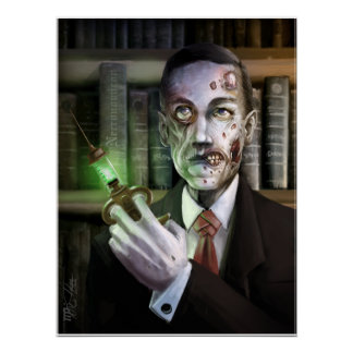Zombie Lovecraft Poster
