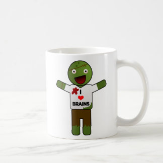 Zombie Loves You For Your Brains! Coffee Mug