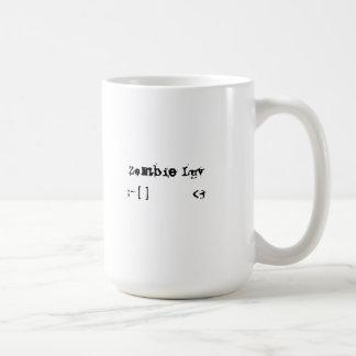 Zombie Luv Emoticon Mug