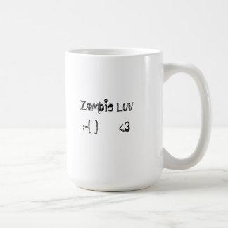 Zombie Luv Emoticon Mug - RSW