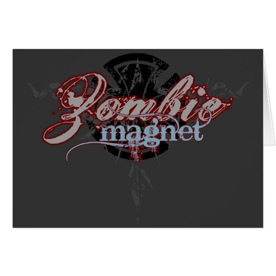 Zombie Magnet Card