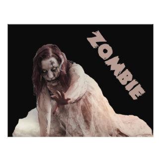 Zombie married flyer