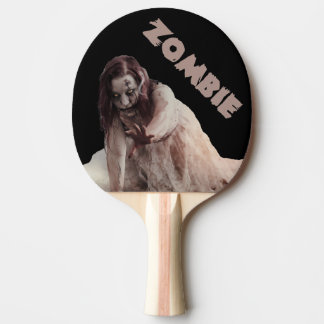 Zombie married Ping-Pong paddle