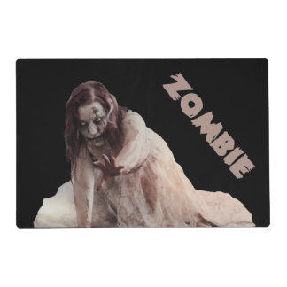 Zombie married placemat