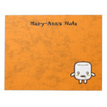 Zombie Marshmallow Memo Notepads
