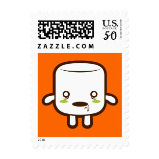 Zombie Marshmallow Postage