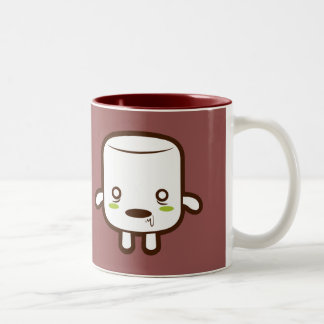 Zombie Marshmallow Two-Tone Coffee Mug