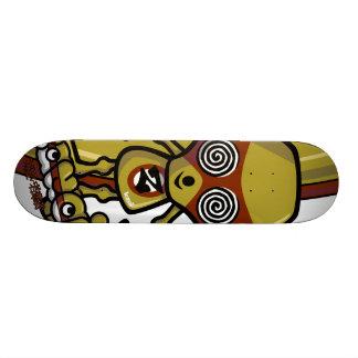 Zombie Mascot Skate Board Deck