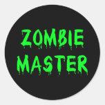 Zombie Master Sticker