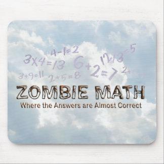 Zombie Math - Basic Mouse Pad