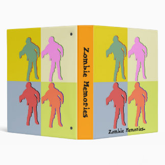 Zombie Memories Four Zombies Style Binder