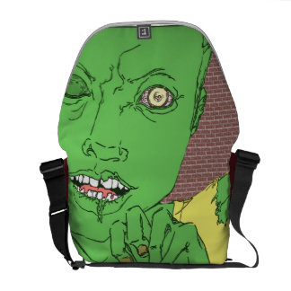 Zombie Messanger Bag Messenger Bag