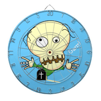 Zombie Metal Cage Dart Board