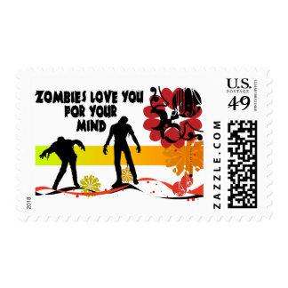 Zombie Mind Postage
