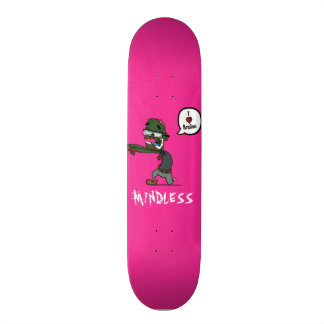 Zombie mindless pink deck