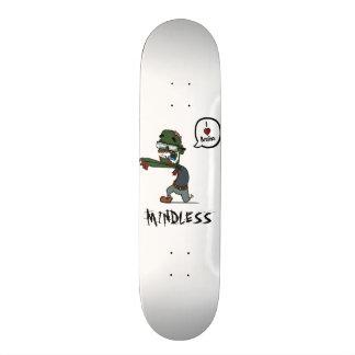 Zombie mindless white deck