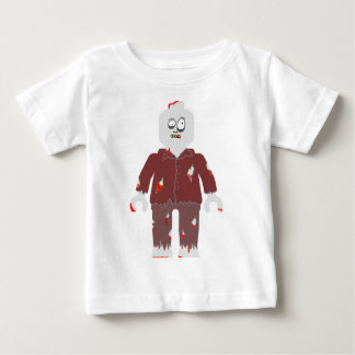 ZOMBIE MINIFIG [BROWN JACKET] by Zombie Ghetto Tshirt