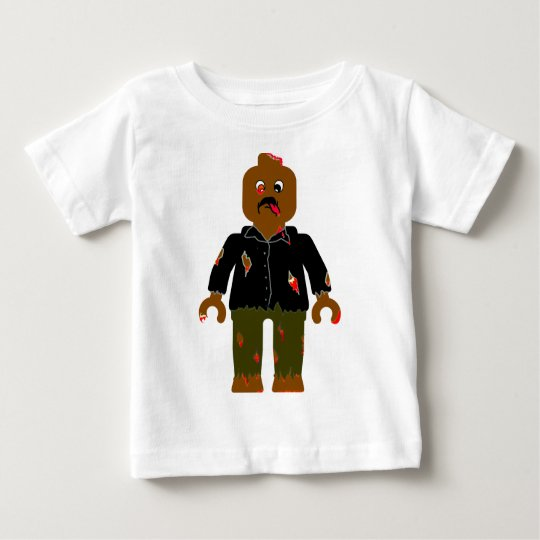 Zombie Minifigure by Zombie Ghetto Baby T-Shirt