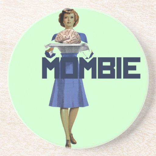 Zombie Mom Coasters