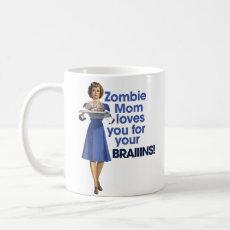 Zombie Mom Coffee Mugs