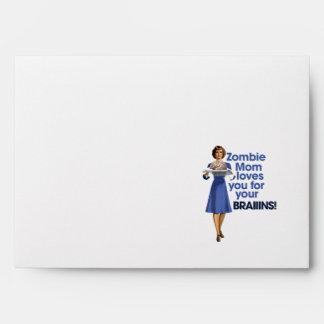 Zombie Mom Envelopes