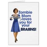Zombie Mom Greeting Card
