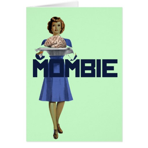 Zombie Mom Greeting Cards