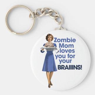 Zombie Mom Keychains