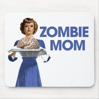 Zombie Mom Mouse Pad