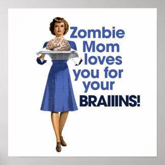 Zombie Mom Poster