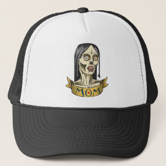 Zombie Mom Trucker Hat